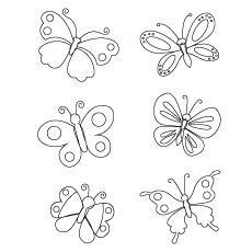 Free Printable Beautiful Nature Erflies Coloring Pictures