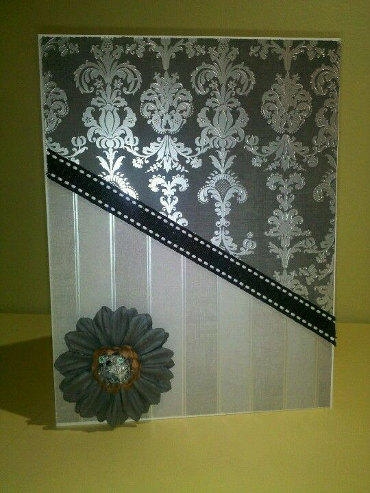 formal affair stack  cards handmade