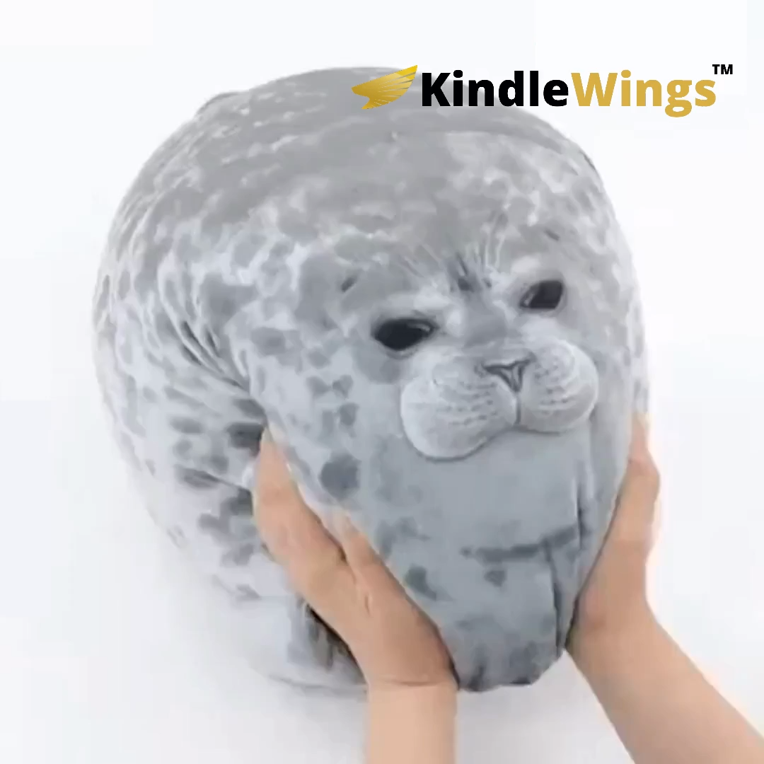 pin on cute seal pillow