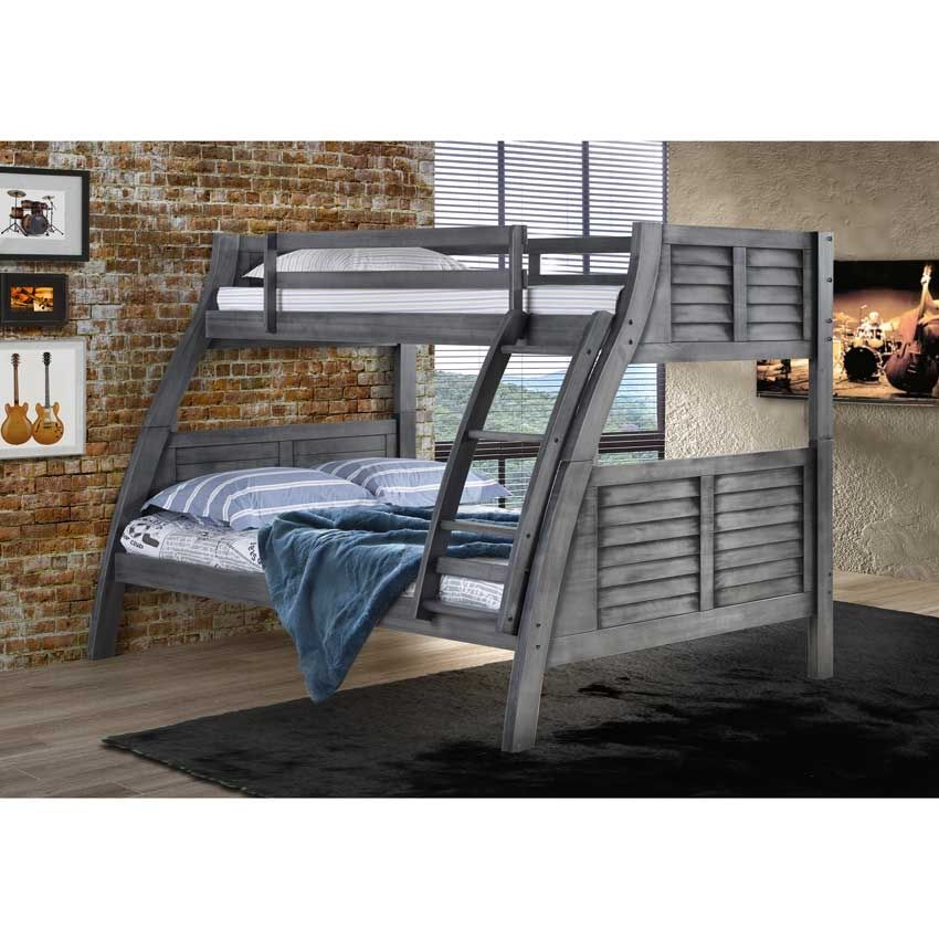 Powell Easton Gray Bunk Bed 16y8185bb With Discount Prices And Free