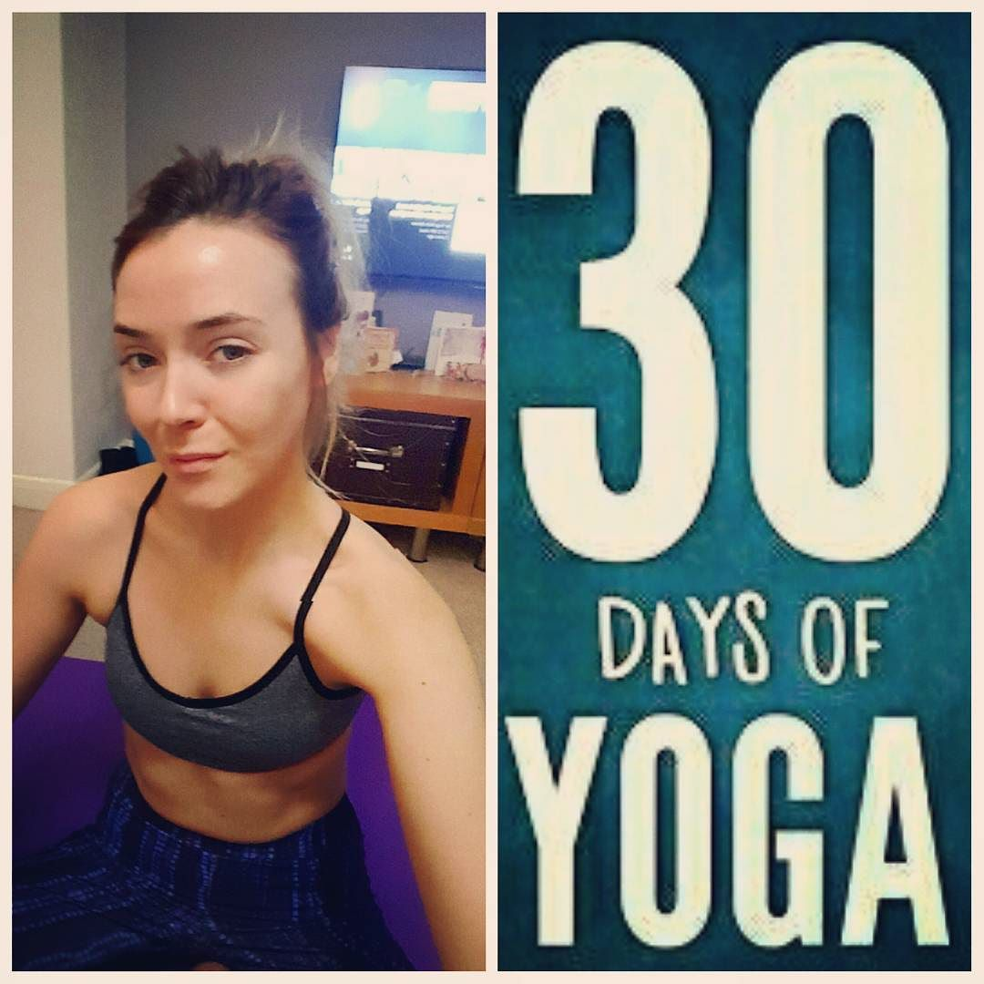 30 DAYS OF YOGA  I've been thinking for a while now to get back into yoga I used to attend a class regularly a couple of years ago but stopped for reasons I can't even remember. I've really wanted to get back into it the last few weeks especially and I saw others were starting 30 days of yoga. When I got up this morning I asked myself the question why do I want to do it and my answers were:  1. To help an injury - strengthen the muscles around my hips and become more flexible. 2. Mental and…