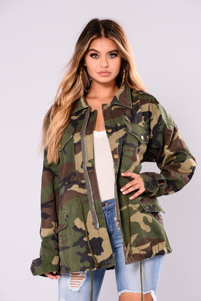 d249721b2082 Aim To Misbehave Camo Jacket - Camo