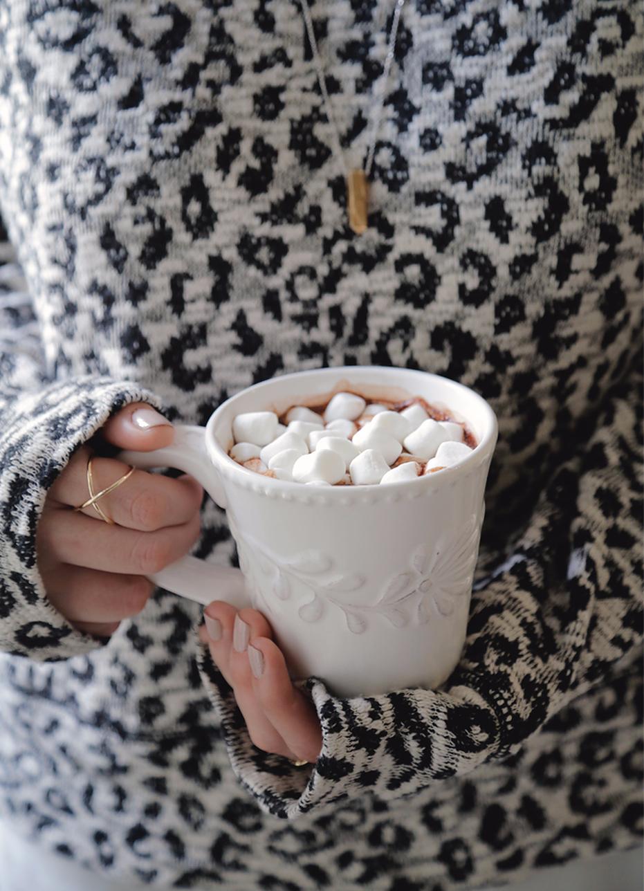 DIY Hot Cocoa Mix Holiday edition (con imágenes