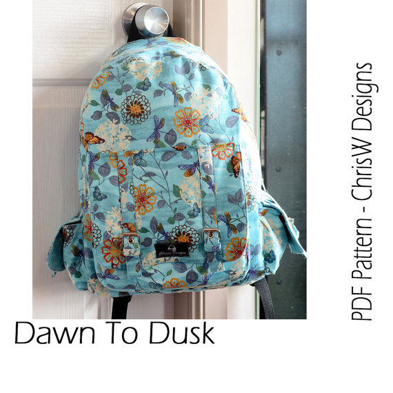 Backpack PDF sewing pattern Rucksack \