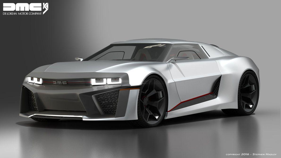 2017 Dmc Delorean Concept 3 By Sphinx1 On Deviantart