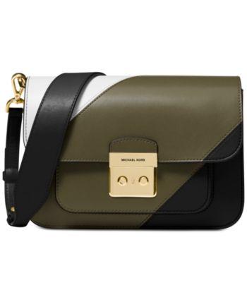 Michael Michael Kors Sloan Editor Tricolor Shoulder Bag
