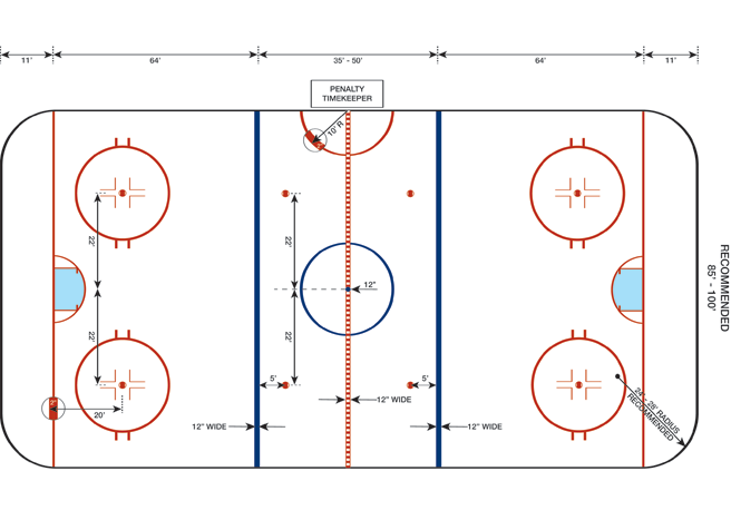 Rink Systems Inc Rink Layouts Ice Rink Cells Project Layout