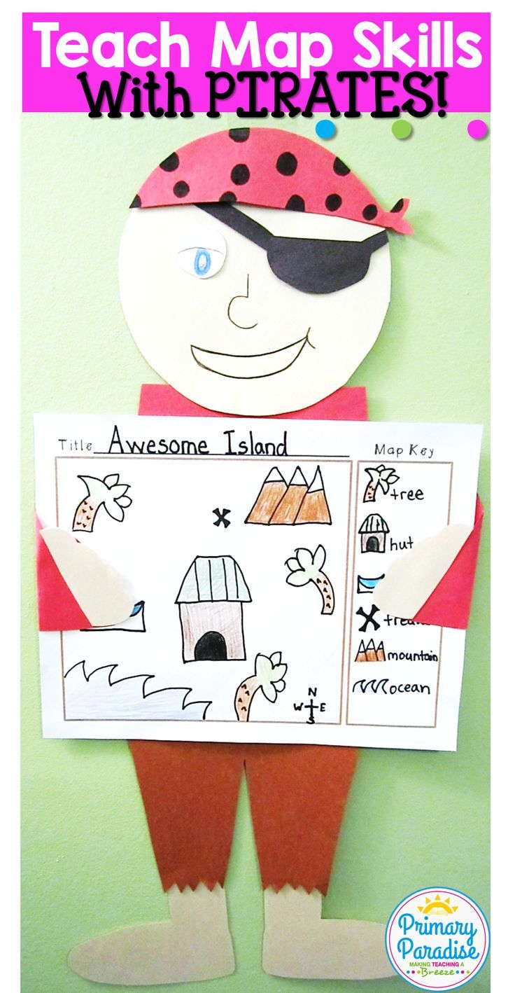 Teach Map Skills In Your Social Studies Social Skills Unit For Kindergarten First Second Or Third Grades Wi Kindergarten Social Studies Map Skills Pirate Day [ 1418 x 736 Pixel ]