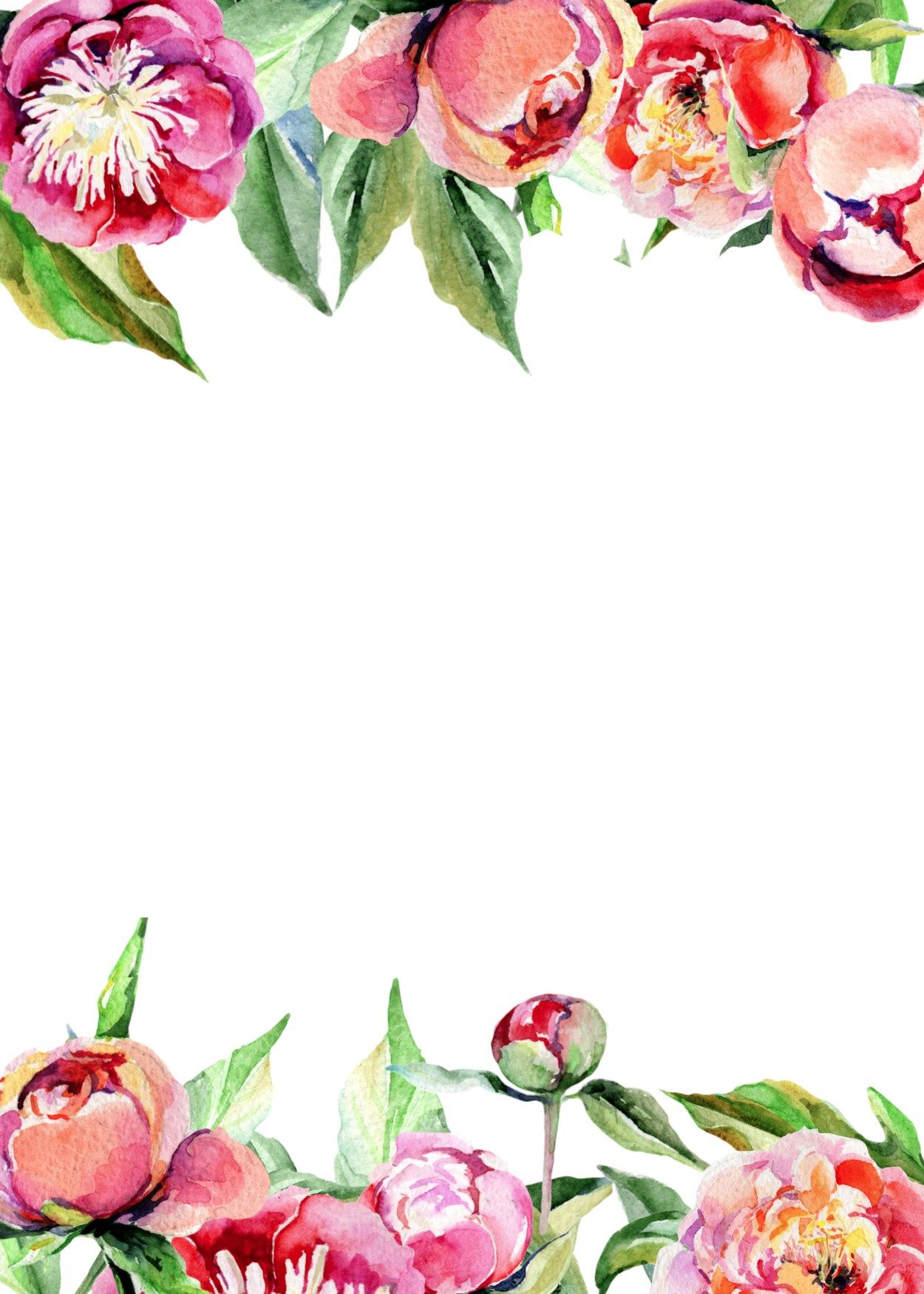 Peony Flower Invitation 2 Paper Trail Design Free Wedding Invitation Templates Free Wedding Invitations Flower Invitation