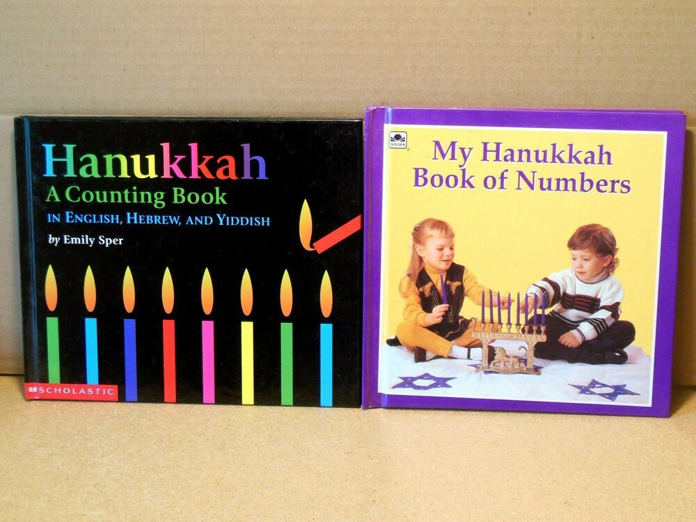 Lot My Hanukkah Book Of Numbers And A Counting Book In English Hebrew Yiddish Counting Books Book Of Numbers Books
