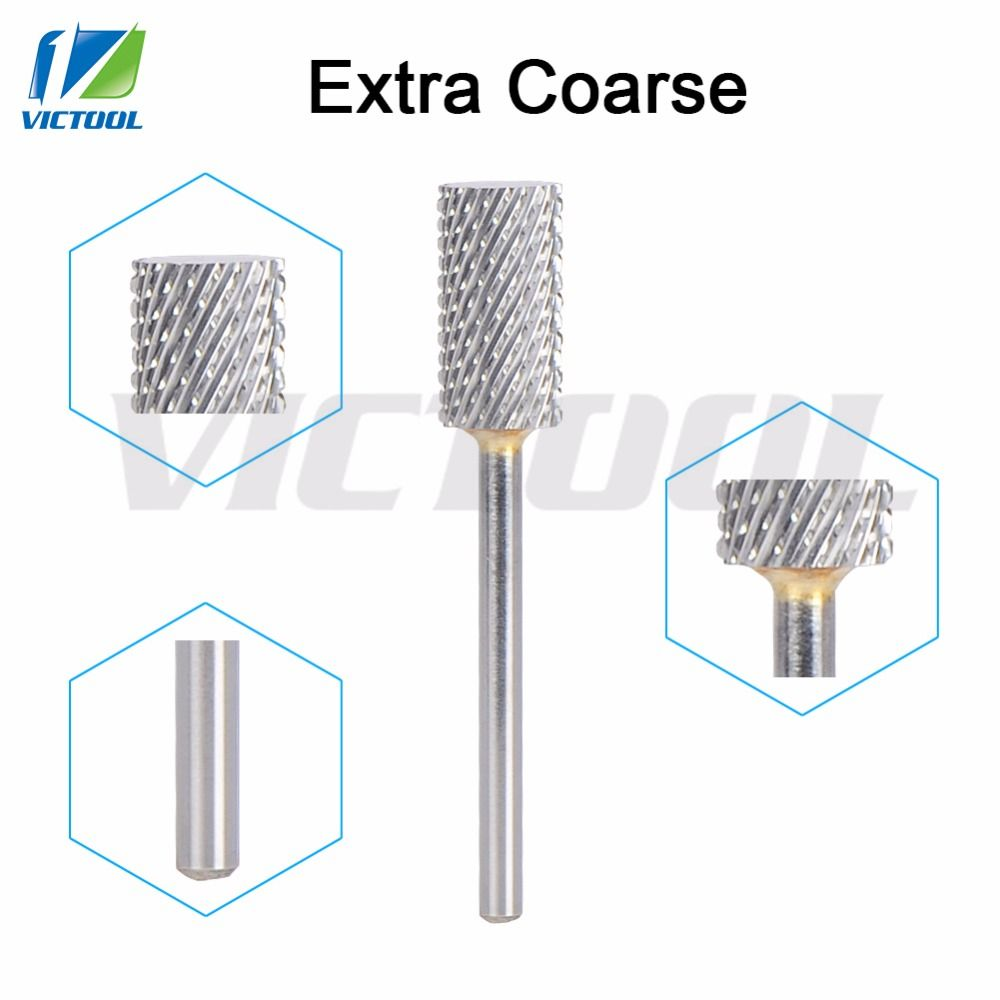 Victool Tungsten Steel Nail Bit Extra Coarse Cylinder Shape For ...