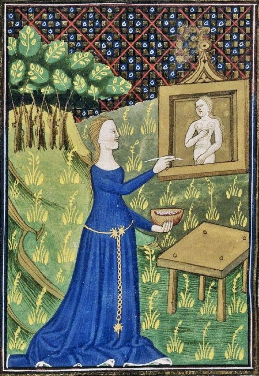 Women Artists from the 1300s1400s Illuminated