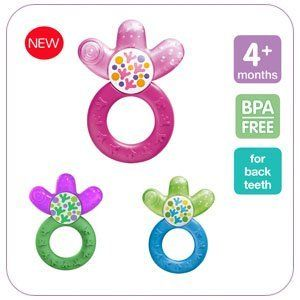 Mam Cooler Teether Pink Blue Green By Mam 4 99 Cool Relief