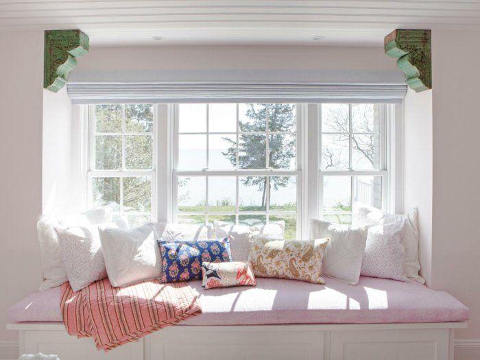 jugendzimmer wohnideen dekokissen sitzbank fenster - wohnideen small bedrooms