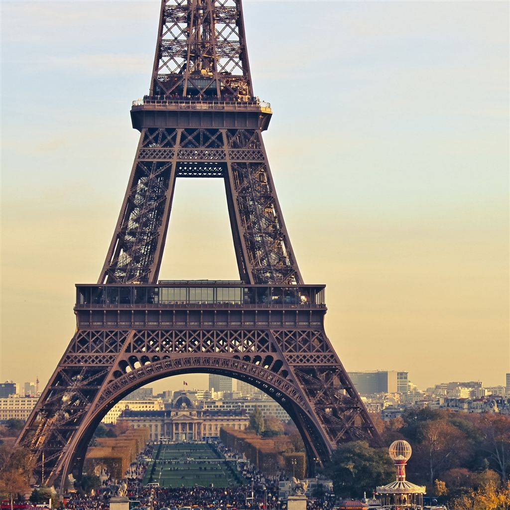 Eiffel Tower iPad Air Wallpaper Download iPhone