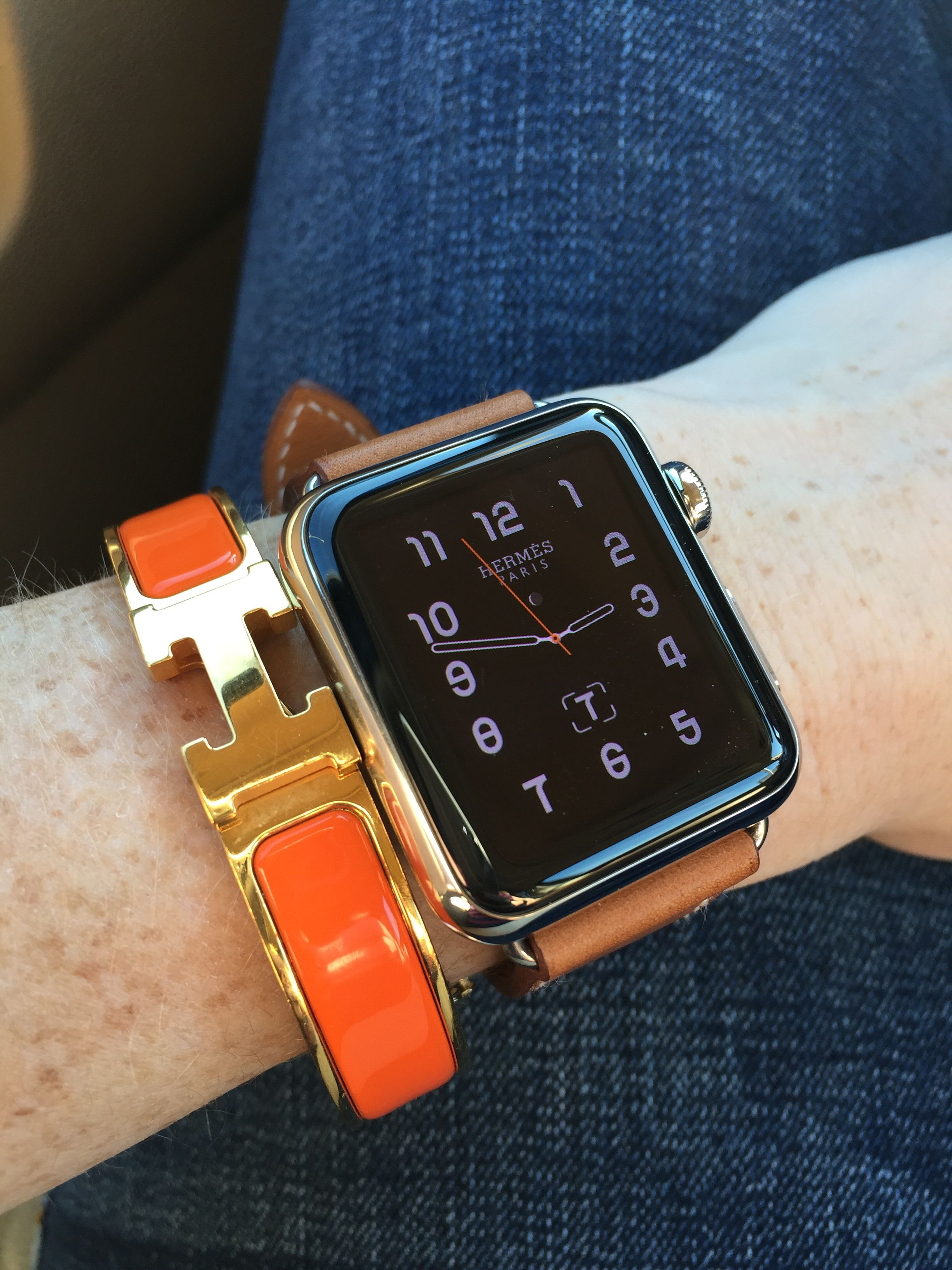 9a008f0739a Arm candy win the new Hermes Apple Watch.