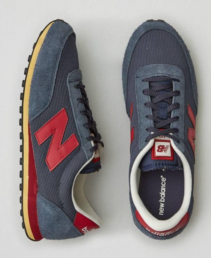 AEO New Balance 410 Sneakers, Men's, Navy Blue
