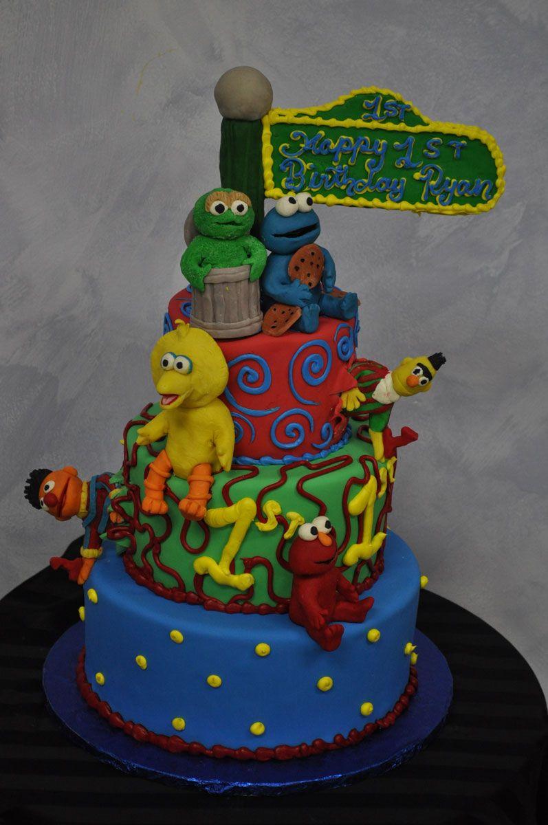 Happy 1st Birthday Ryan First Birthday Cake New Jersey Pinterest
