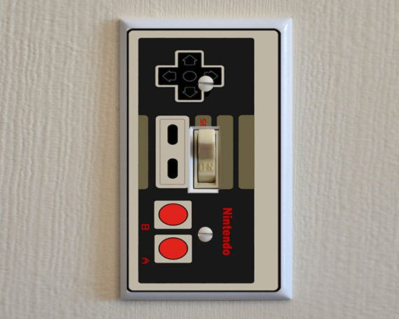 Custom Wall Plate Covers: Nintendo Controller Switch Plate