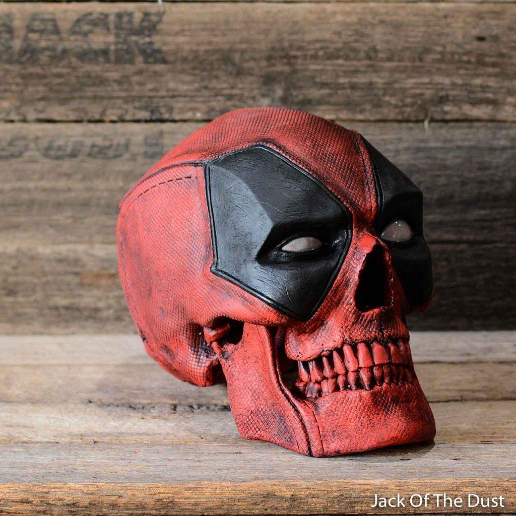 Deadpool Skull In 2020 Skull Skull Art Deadpool