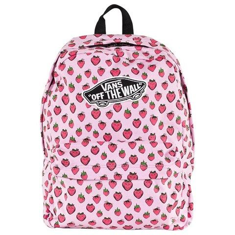 45d2c9b21ae Strawberry Print Backpack | Accessories | Vans backpack, Backpacks ...