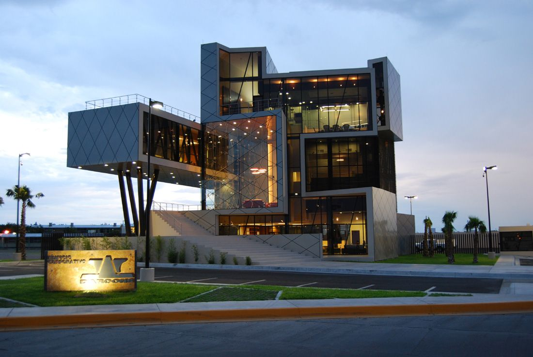 modern architectural of darcons headquarters building by arquitectura en proceso - Modern Architecture Mexico