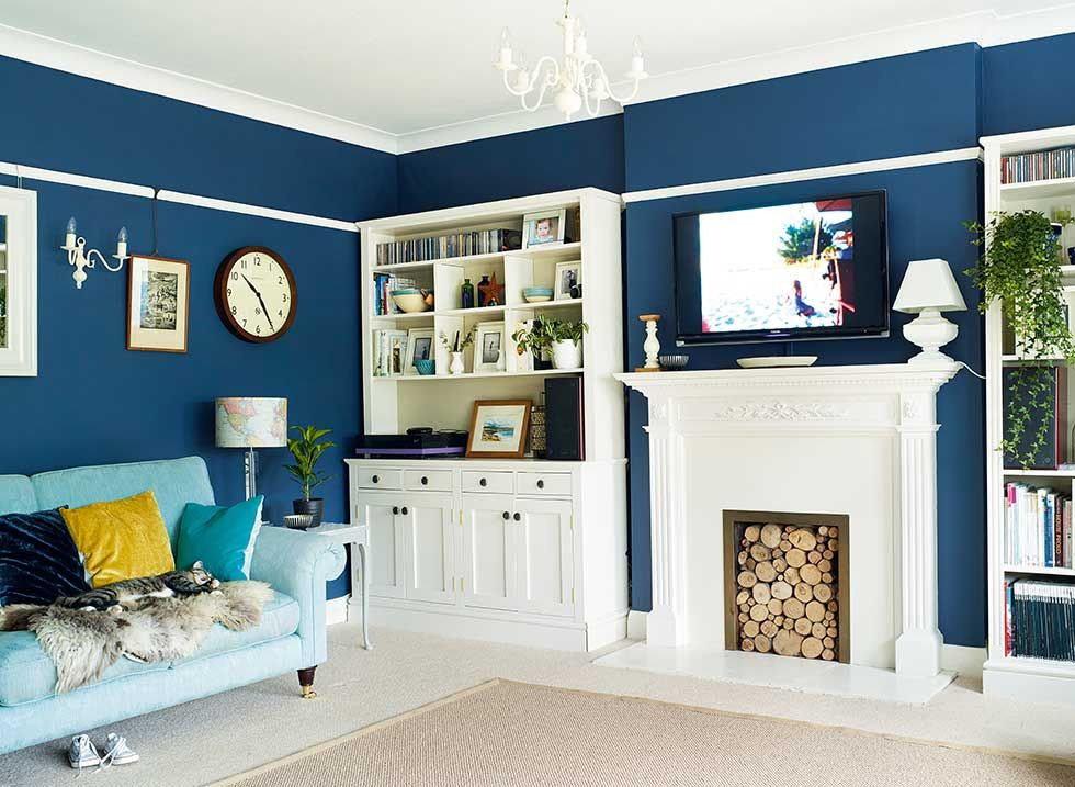 Home Improvement Advice Everyone Will Manage To Benefit From Blue Living Room Blue Living Room Sets Gray Living Room Design #white #living #room #with #fireplace