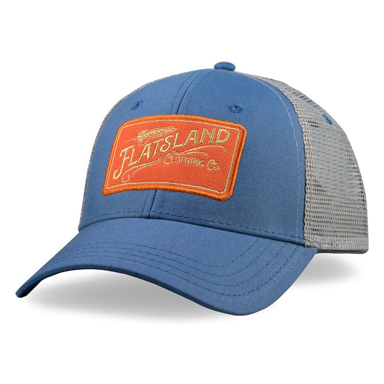 00a48fc8cd4 Vintage Flatsland Trucker Hat - Slate