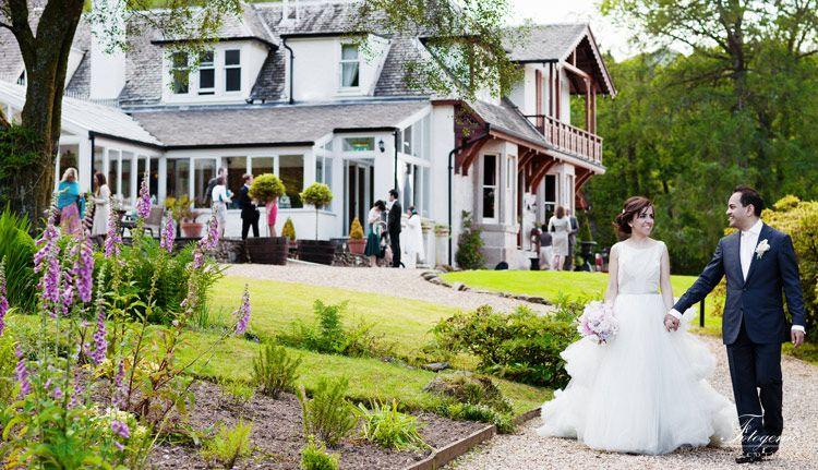Luxury Small Wedding Venue Scotland Civil Partnership Reception