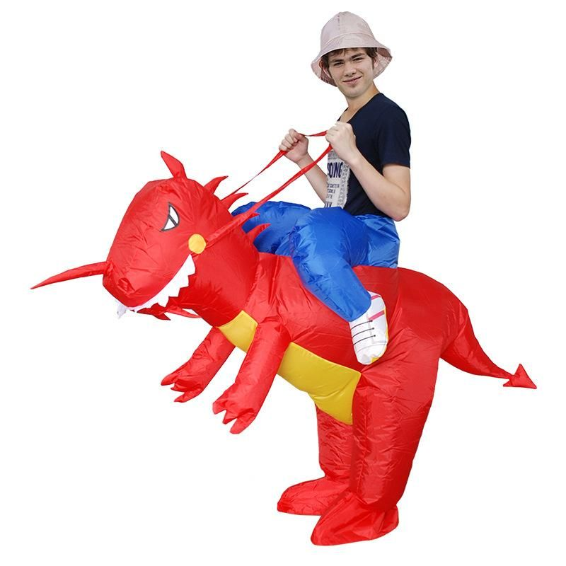 Inflatable Costume Blowup Dress Parade Party Cosplay Kids Suits Adults Clothing