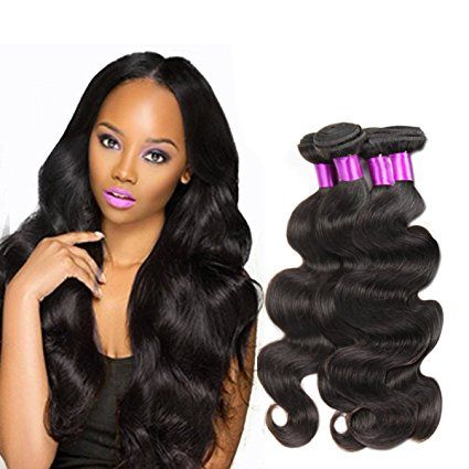 Brazilian Virgin Body Hair 4 Bundles Body Wave 100g Unprocessed