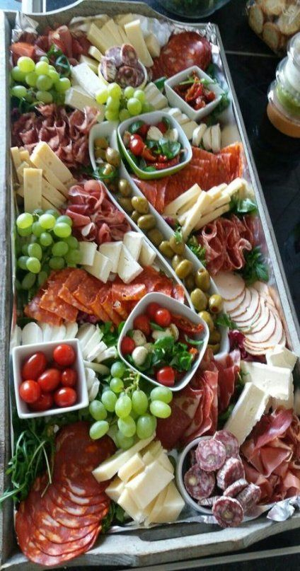 Party Food Buffet Cold 38+ Ideas #buffet