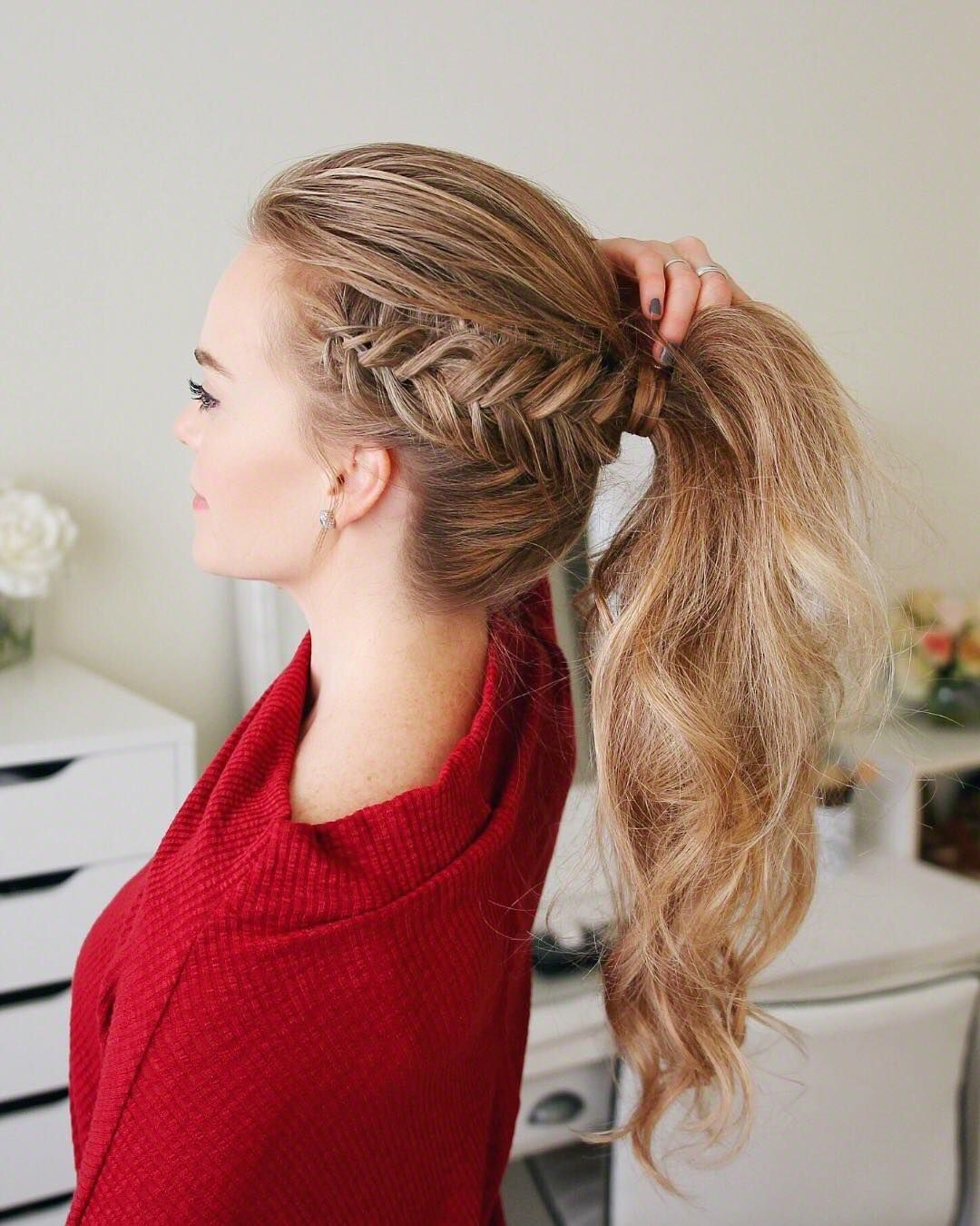 Best Super Cute and Cool Ponytail Hairstyles, Long Hair Styles