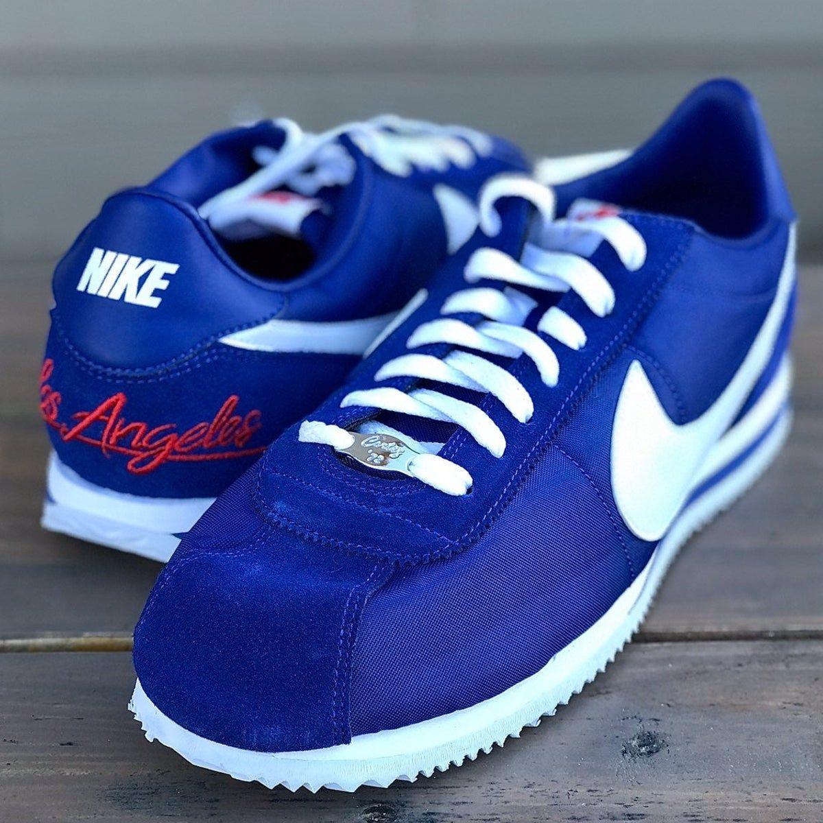 Nike Cortez Los Angeles Dodgers Blue in