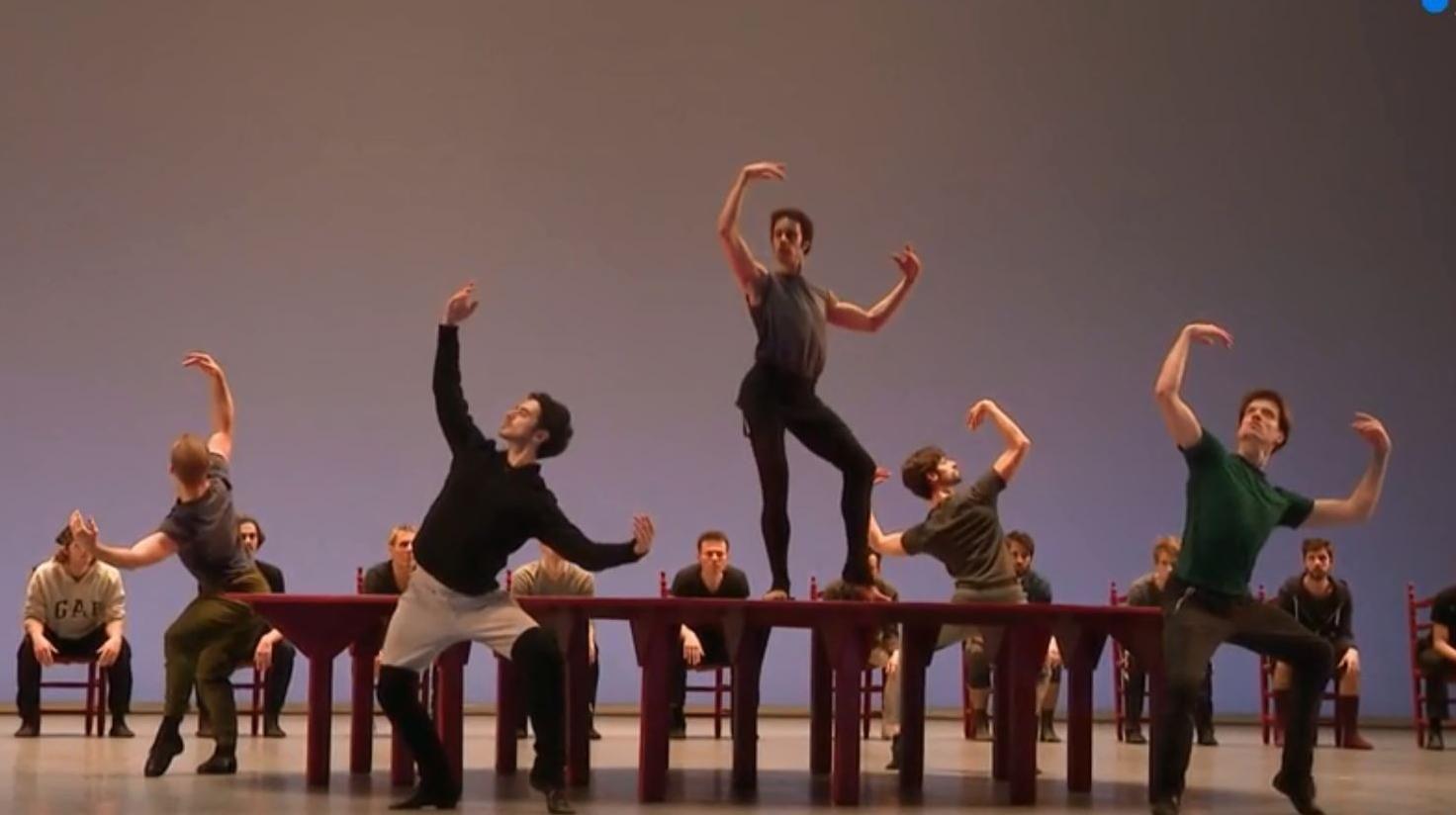 Danse Le Premier Bolero De Mathias Heymann Bolero Premiers Sons Choregraphie Danse