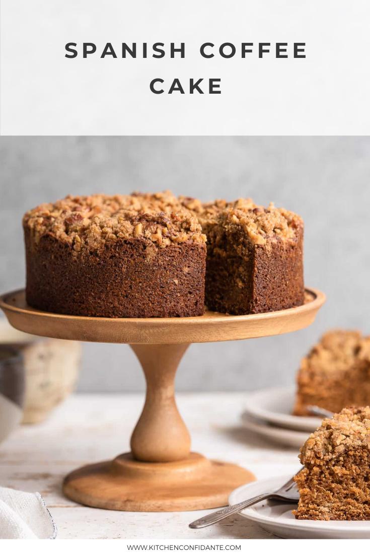 Spanish Coffee Cake Streusel Coffee Cake Recipe Kitchen Confidante Recipe In 2020 Coffee Cake Recipes Coffee Cake Savoury Cake