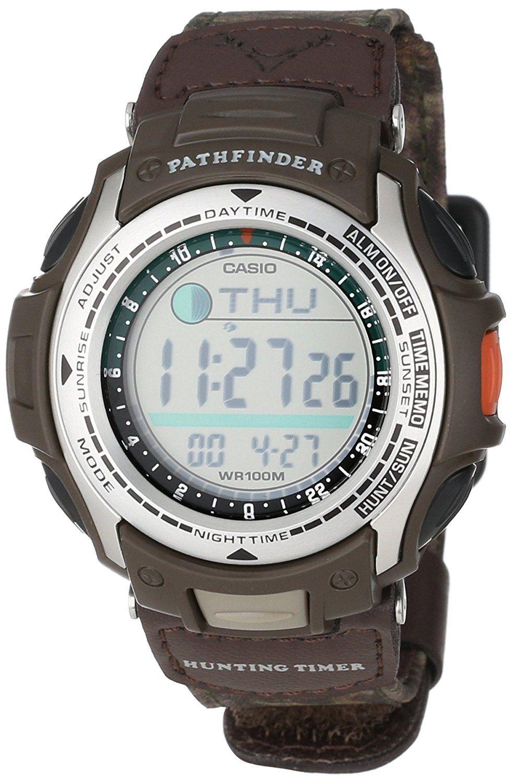 Casio Men's PAS410B5V Pathfinder Moon Phase Hunting Timer