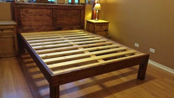 Each Handcrafted Bed Frame Is Built With Carefully Selected 4x4