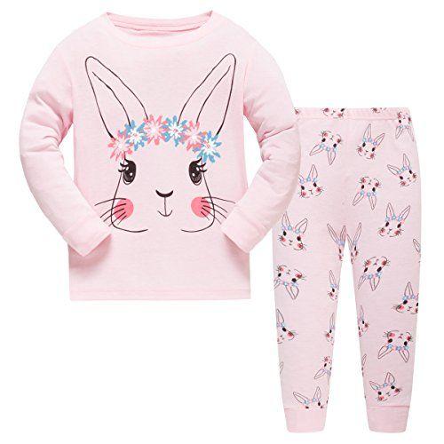 Schmoopy Girls Unicorn Pajamas Set 2-7 Years