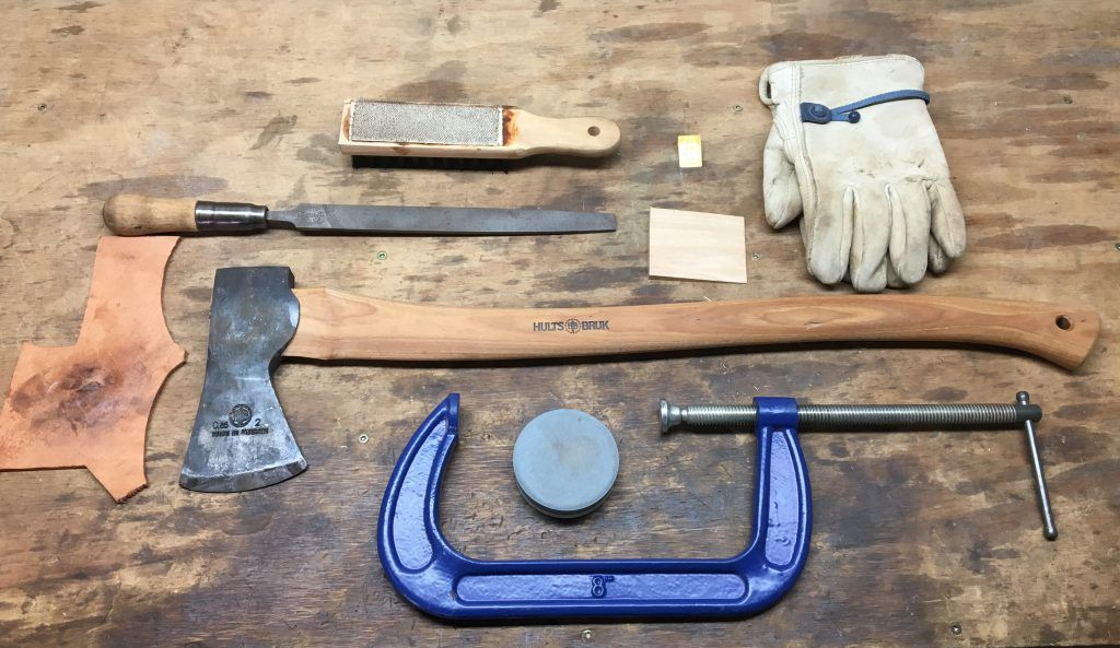 How To Sharpen An Axe Step By Step Hults Brukblog Hults Bruk Axe Survival Axe Bushcraft Axe