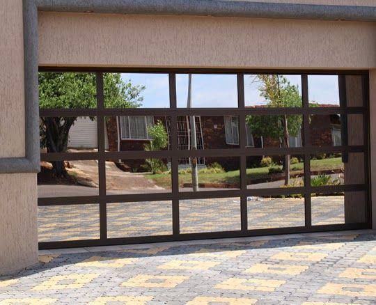 glazed aluminium garage doors for houses uk - Google Search ...