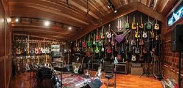 Photo of Inside Steve Vai's Guitar Room #recreationalroom #recreational #room #interior #…,  #Guitar…
