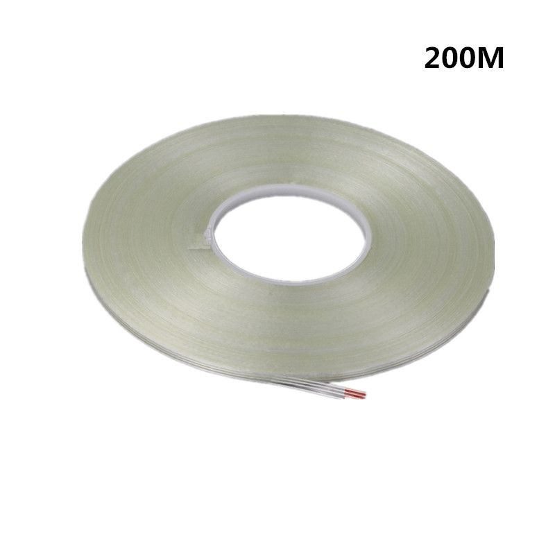 Long Striped Fiber Tape High Temperature Seamless 200m Household Appliances Packaging Mold Diy Single Sided Fil Diy Molding Filament Tape Household Appliances