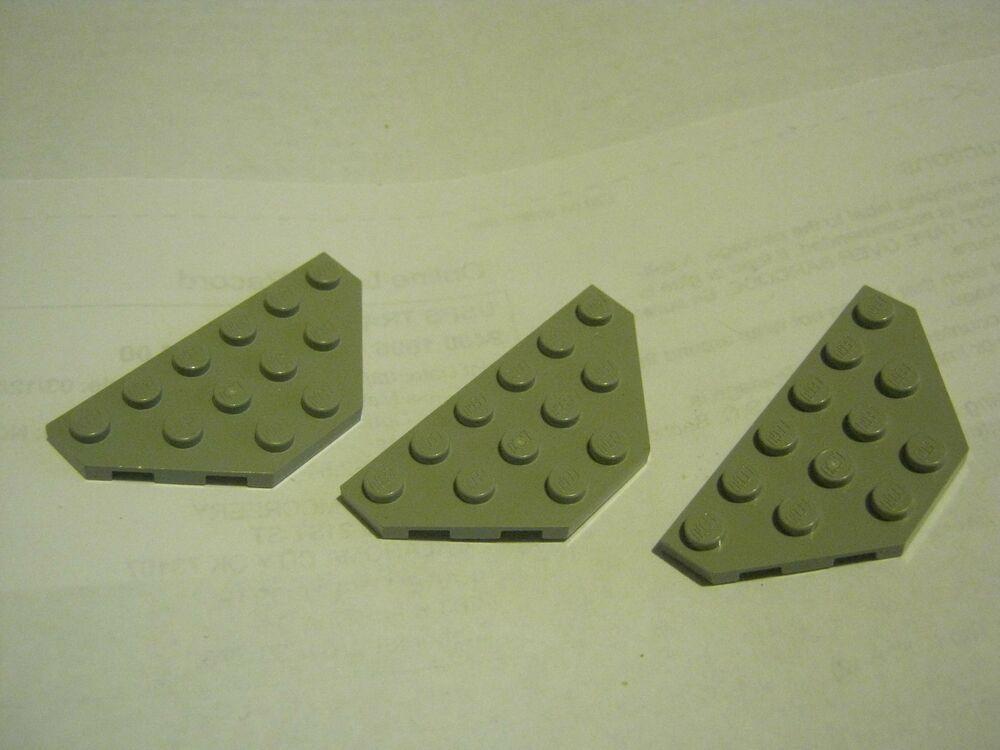 2x4 Dark Tan Tail Wing Plate Bricks ~ Lego ~ NEW ~ Star Wars 8