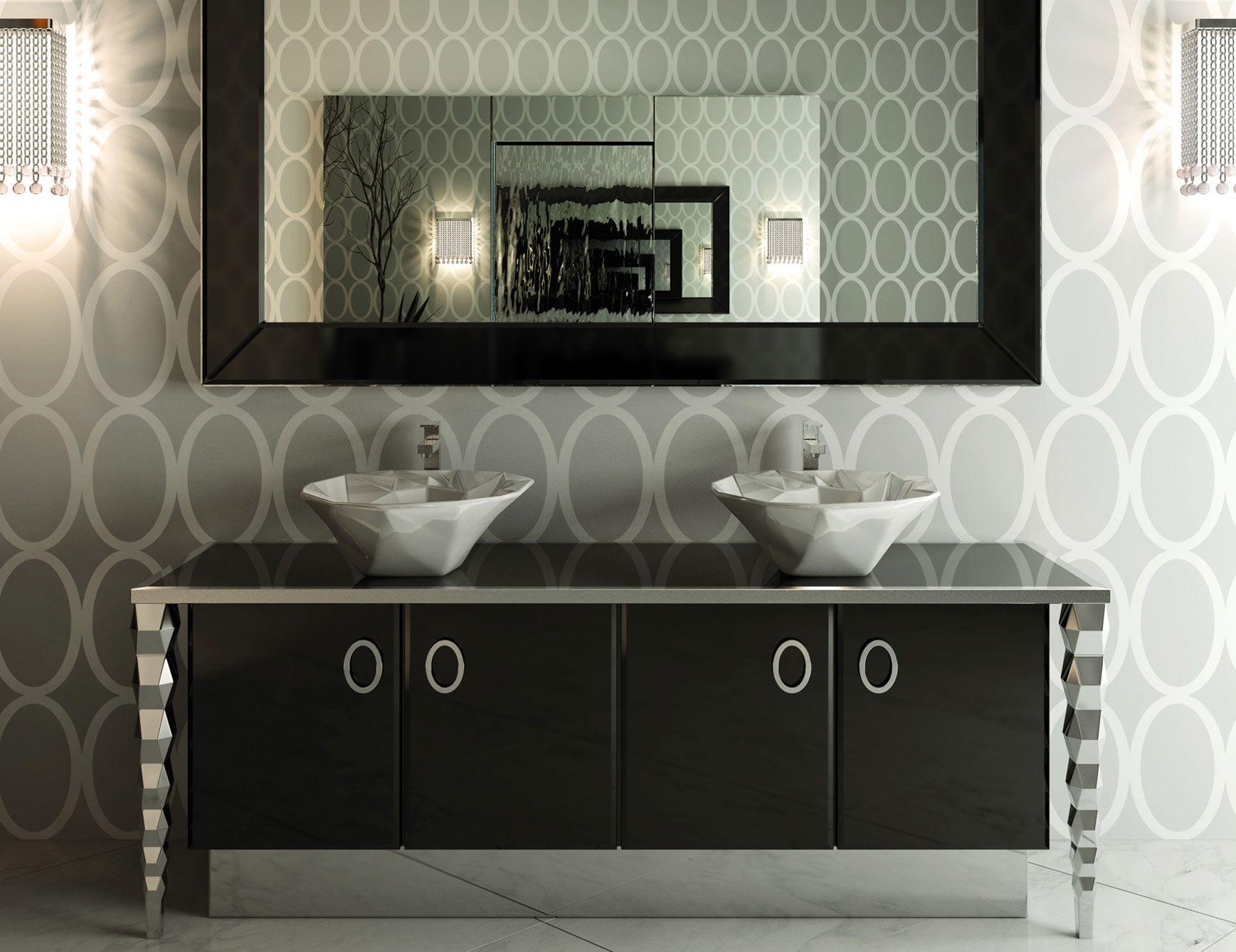 Visionnaire Ipe Cavalli Portorose Luxury Italian Credenza Italian Bathroom Design Luxury Bathroom Vanities Custom Bathroom Vanity