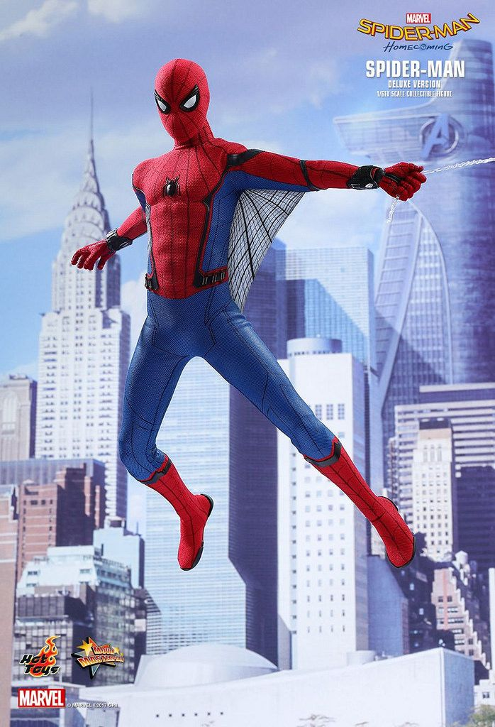 Hot Toys Spider-Man: Homecoming -Deluxe Version   SPIDER-MAN
