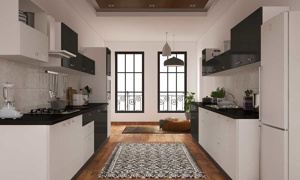 related image parallel kitchen design interior design kitchen kitchen interior on kitchen interior parallel id=91354