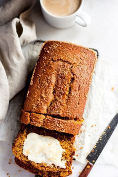 The Best Pumpkin Bread - This is THE BEST Pumpkin Bread. Hands down. It's my mom's recipe and I have never used another pumpkin bread recipe. Easy moist delicious and crunchy lidded thanks to the addition of some raw sugar. Hello gorgeous! |