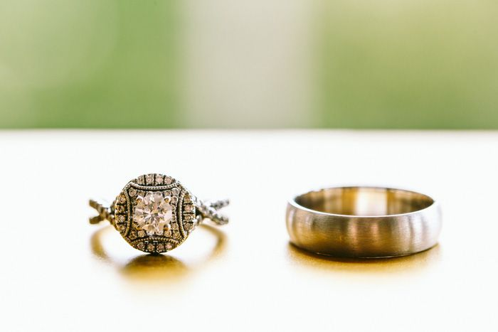 Wedding Rings for A Romantic Forest Elopement | itakeyou
