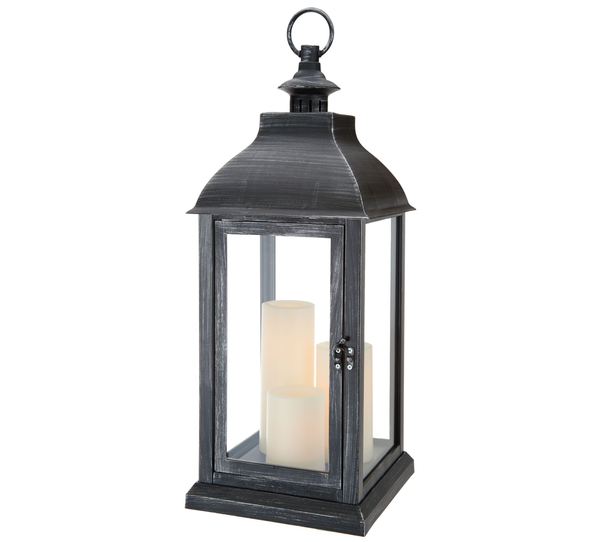 """Nuvo Central Park 3 Light 20/"""" Hanging Lantern w// Clear Beveled Glass 60-896"""